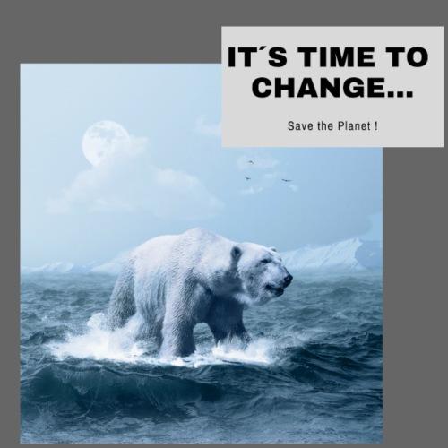 It s Time to Change - Männer Premium T-Shirt