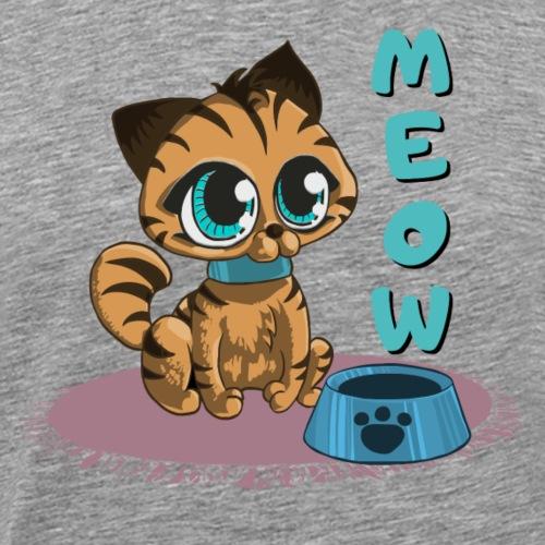 Meow - Männer Premium T-Shirt