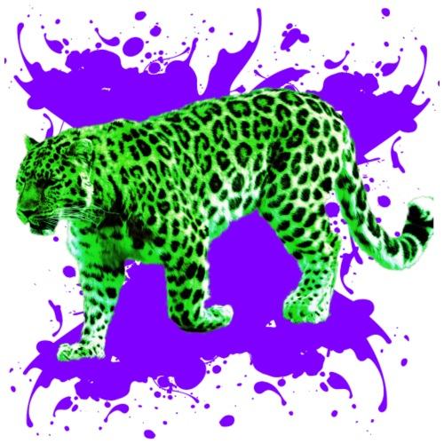 Grüner Leopard - Männer Premium T-Shirt