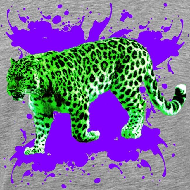 Grüner Leopard