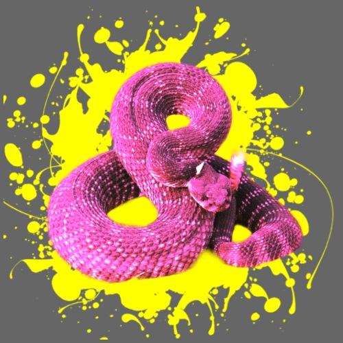 Pink Rattlesnake - Männer Premium T-Shirt