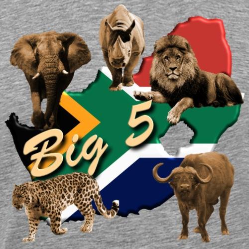 Big 5 - Südafrika Safari - Männer Premium T-Shirt