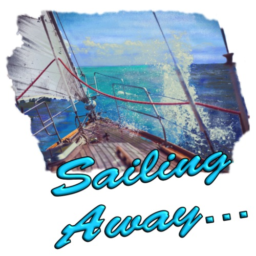 Sailing Away... - Männer Premium T-Shirt