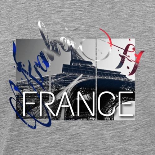 France Eiffel - Männer Premium T-Shirt