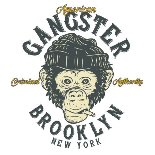 Gangster Monkey - Männer Premium T-Shirt