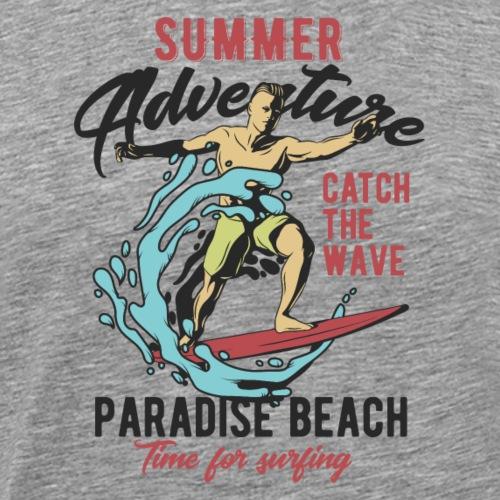 Time for Surfing - Männer Premium T-Shirt