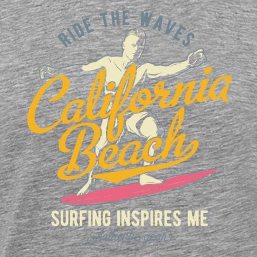 Ride the Waves - Männer Premium T-Shirt