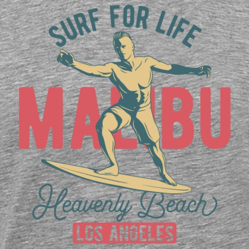Surf for Life - Männer Premium T-Shirt