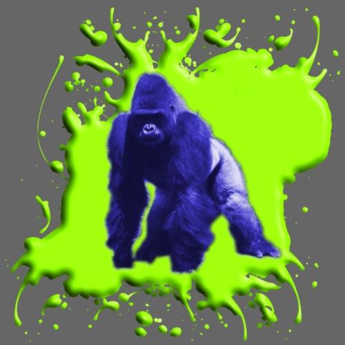 Blue Green Gorilla - Männer Premium T-Shirt