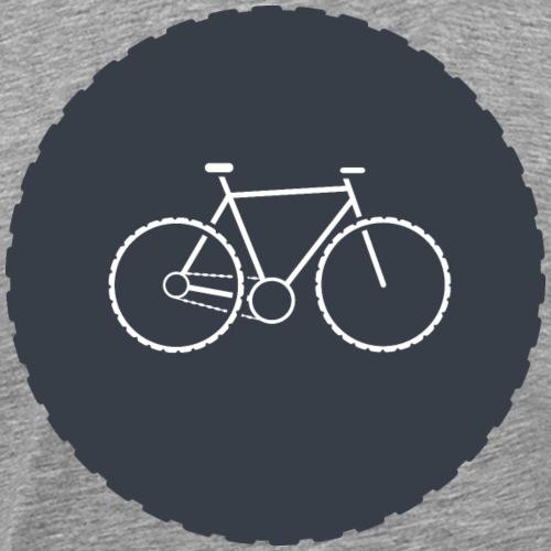 Bike Circle - Männer Premium T-Shirt