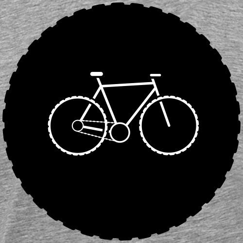 Bike Circle Vector - Männer Premium T-Shirt