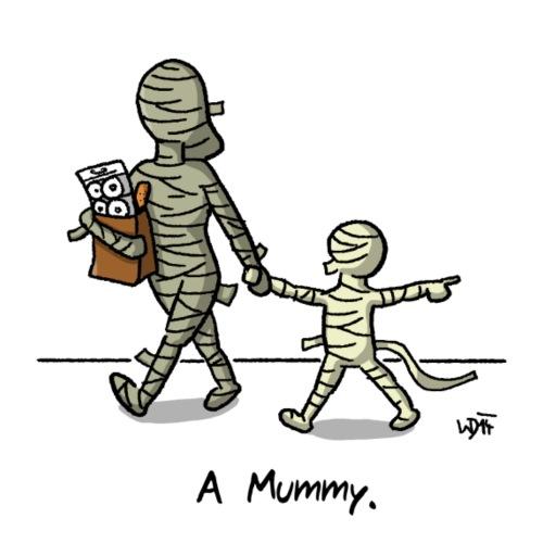Mummy - Männer Premium T-Shirt