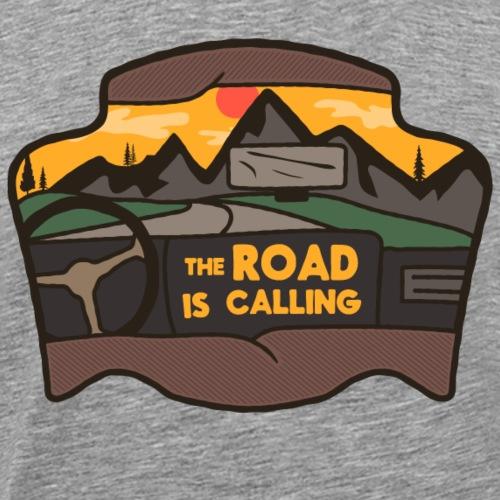 Road is Calling - Männer Premium T-Shirt