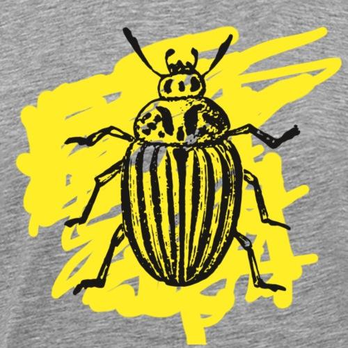 Kartoffelkaefer gelb - Männer Premium T-Shirt