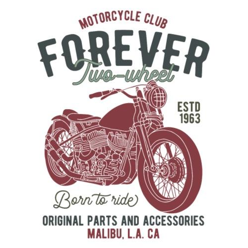 Motorcycle Forever - Männer Premium T-Shirt