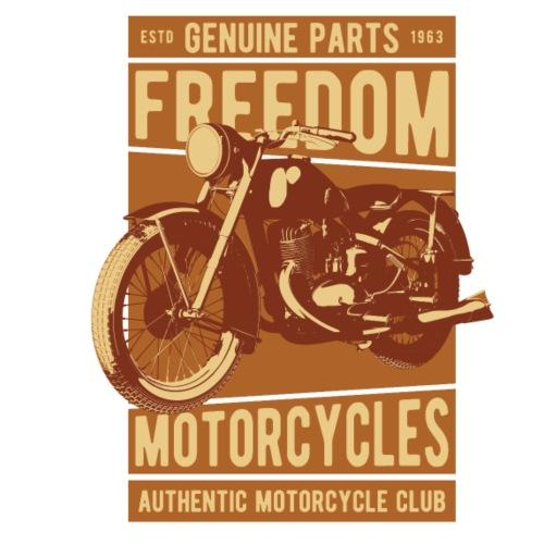 Freedom Motorcycles - Männer Premium T-Shirt