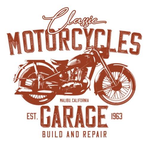 Motorcycle Garage - Männer Premium T-Shirt
