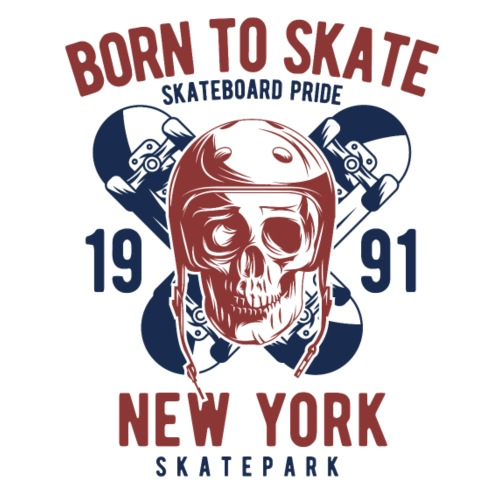 Born to Skate - Männer Premium T-Shirt