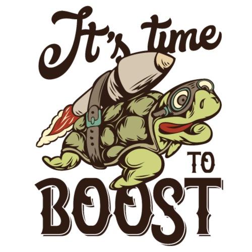 Time to boost - Männer Premium T-Shirt