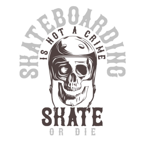 Skateboarding - Männer Premium T-Shirt