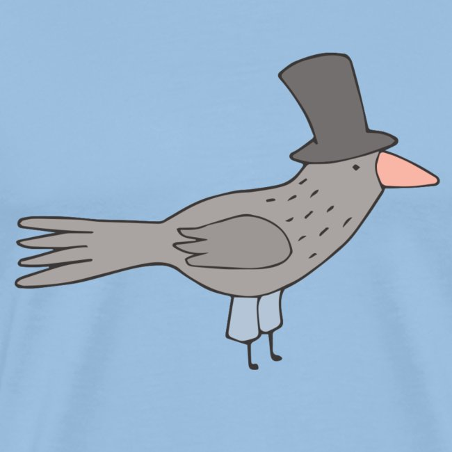 Crow with Hat