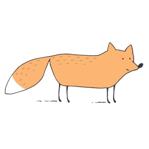 standing fox - Männer Premium T-Shirt