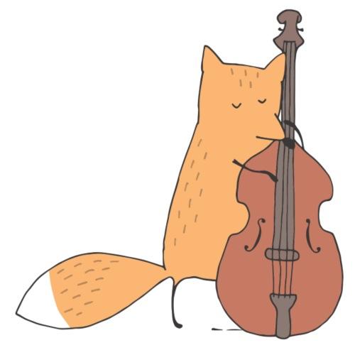 Fox Cello - Männer Premium T-Shirt