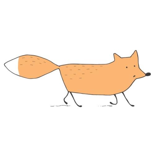 Running Fox - Männer Premium T-Shirt