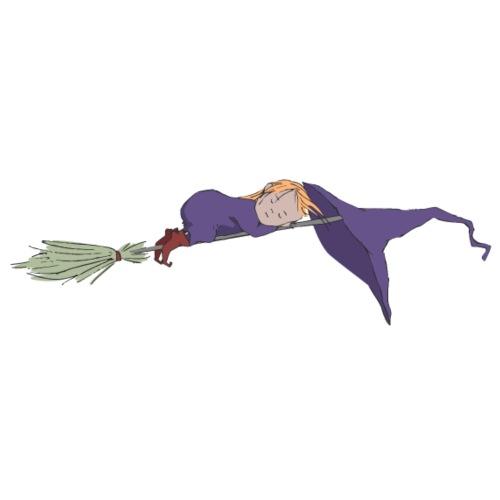 Lilac Witch sleeping - Männer Premium T-Shirt