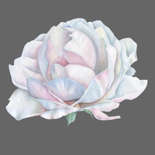 White Rose - Männer Premium T-Shirt