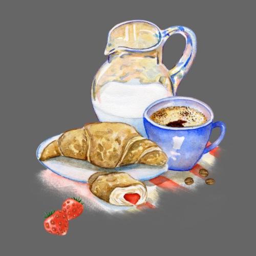 French Breakfast - Männer Premium T-Shirt