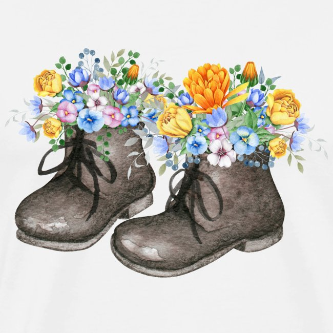 Little Shoes with Flowers