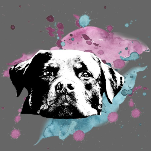 Rottweiler watercolor - Männer Premium T-Shirt