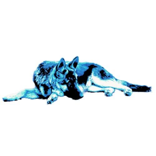 Shepherd blue - Männer Premium T-Shirt