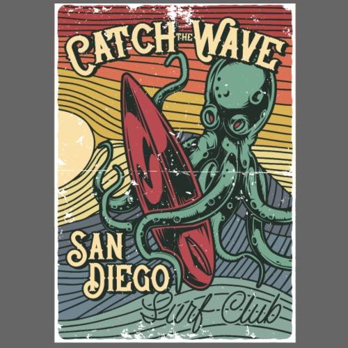 Catch the Wave - Männer Premium T-Shirt