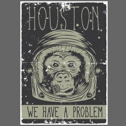 Astronauten Affe - Männer Premium T-Shirt
