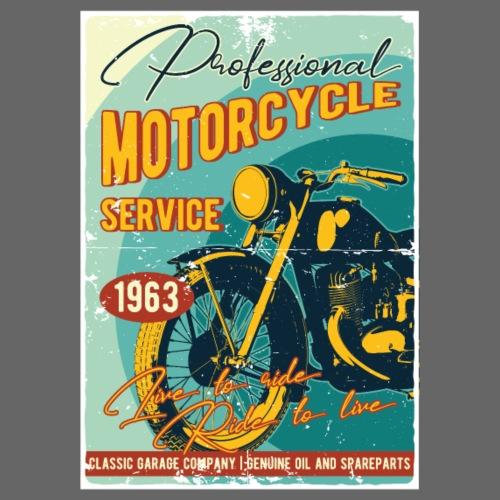 Motorcycle Service - Männer Premium T-Shirt