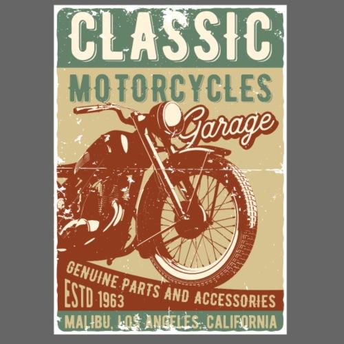 Classic Motorcycles - Männer Premium T-Shirt