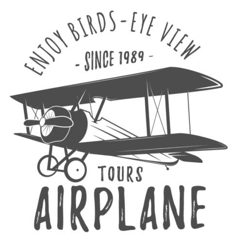Airplane Tours - Männer Premium T-Shirt