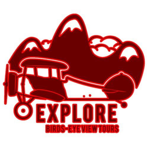 Explore - Männer Premium T-Shirt