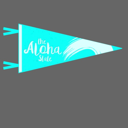 Aloha State türkis - Männer Premium T-Shirt