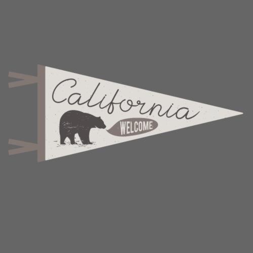 California Welcome - Männer Premium T-Shirt