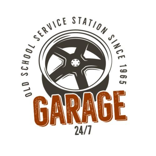 Garage - Männer Premium T-Shirt