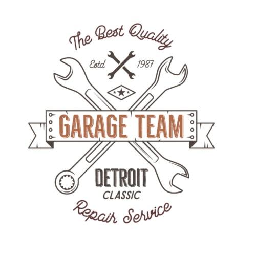 Garage Team - Männer Premium T-Shirt