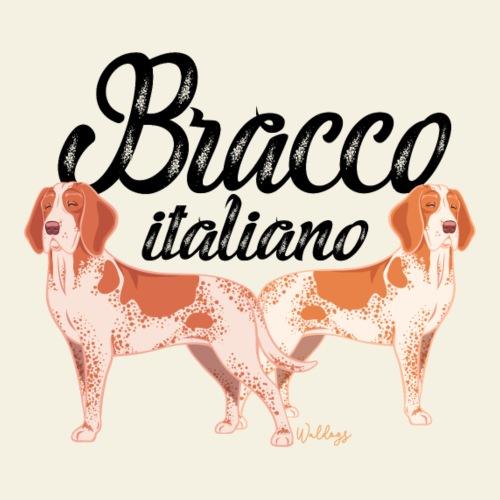 Bracco Italiano III - Miesten premium t-paita