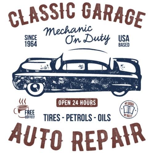 Classic Garage - Männer Premium T-Shirt