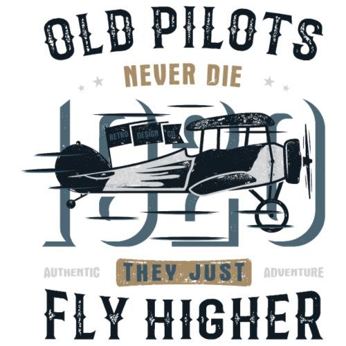 Old Pilots - Männer Premium T-Shirt