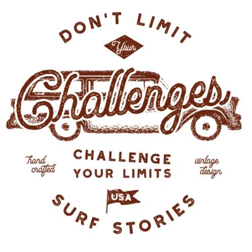 Dont limit your Challenges - Männer Premium T-Shirt