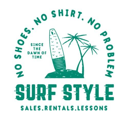 Surf Style - Männer Premium T-Shirt