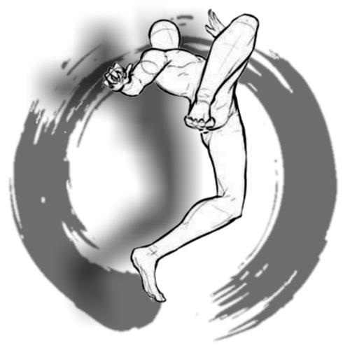 Artes marciales 8 - Camiseta premium hombre